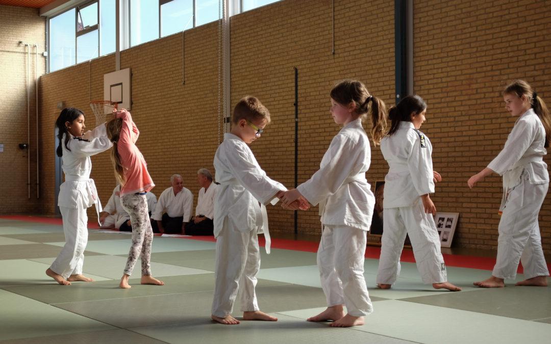Kyu-examens voor de kinderen